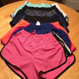 6 Pairs of Athletic Shorts